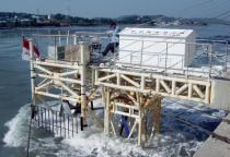 In-situ experiment of the Uldolmok tidal current power
