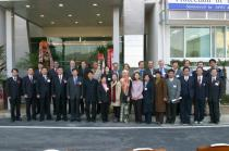 Commemoration photo for the opening of AMETEC